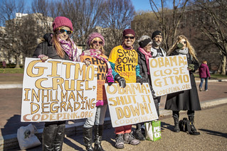 Code Pink at the White House on January 11th, 2016
