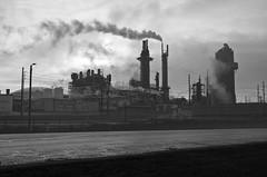 Steamy (ramseybuckeye) Tags: life road ohio plant amanda black art husky lima pentax fort whte refinery potash chemical