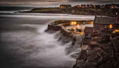 Evening at Crail II (woodsdvw) Tags: fife scotlanduk crailharbour nd10 night1700