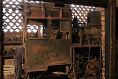 I_B_IMG_0501 (florian_grupp) Tags: china railroad nature beautiful train landscape asia mine railway steam workshop repair depot coal leshan sichuan narrow 2010 narrowgauge 762mm shixi overhaul jiayang shibanxi