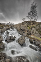 Flowing (Photo Lab by Ross Farnham) Tags: motion wales waterfall nikon rocks angle wide snowcapped lee flowing snowdonia filters f4 d800 1635mm