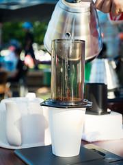 Coffee Making (sarahbethsmithphotography) Tags: coffee tacoma barista blackcoffee ttown smallbusiness aeropress tacomacoffee slowcoffee popupcoffee tacomabusiness