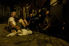 street scene cj (Mihai Ciama) Tags: street night scene dog low light world photography fujifilm x candid going collecting souls faces moments decisive moment flickr explore best camera prime lens portrait city snap unposed streettog