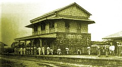 Caloocan Station on the Manila and Dagupan R.R. captured by American troops on Feb. 10, 1899 (SSAVE w/ over 5 MILLION views THX) Tags: spanishamericanwar