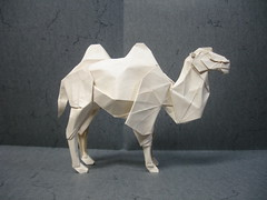 Bactrian Camel (Diagram Version) (shuki.kato) Tags: animal paper mammal camel fold ungulate bactrian kato shuki