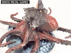 Pathfinder Scylla (whitemetalgames.com) Tags: white monster metal silver conversion games level rpg aquatic built pathfinder scylla wmg aberation scartch