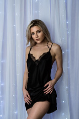 145A3192.2 (KristinaLilith) Tags: lights glamour lingerie blonde boudoir nightie negligee