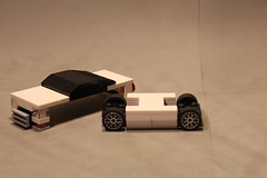 Modular (UndercoverWookiee) Tags: car wheel japan lego body daily modular bbs slammed driven minifigure removable