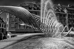 Fontein Kortrijk / Fountain Kortrijk Belgium (jo.misere) Tags: bw water fountain belgium belgie sony kortrijk 2012 zw fontein alpha550