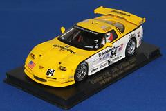 2000 Corvette C5R (twm1340) Tags: auto chevrolet scale car model 2000 chevy slot corvette goodwrench 132 c5r