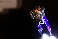 Jet Pack Futuristic (kosbrick) Tags: lego space futuristic jetpack moc npu paintroller ironbuilder