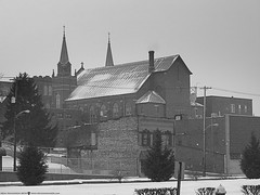 St. Mary's in the Snow (Don Henderson) Tags: winter snow newkensington meloncholy westmorelandcounty stmaryscatholicchurch