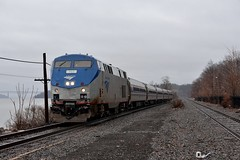 Ethan Allen to NY Penn Station (grumpyff) Tags: railroad travel ny newyork train coach track rail amtrak transportation budd hudsonriver passenger genesis ge 717 ethanallen generalelectric hudsonvalley amfleet rrrhinecliff