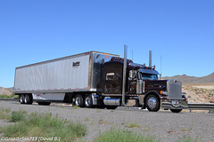 Zentner Transportation Peterbilt 379 (NV) (Trucks, Buses, & Trains by granitefan713) Tags: van sleeper peterbilt 18wheeler tractortrailer bigrig longhaul largecar 379 longhood owneroperator peterbiltruck peterbilt379 trucktractor vantrailer sleepertractor