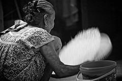 Sorting Rice (Litratistica Images NYC) Tags: camera old girl rice philippines working streetphotography oldlady streetphotographer ilocossur tagudin canon70200 canoneos5d inang earldolphy litratisticaimages cherrydolphy