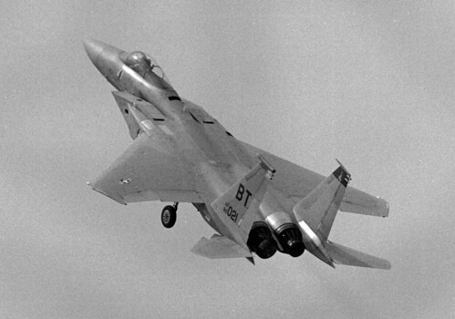 F-15C Eagle            Bitburg BT 80-021  takeoff