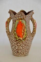 snakeskin vase (dekker@dekker) Tags: lava ceramics interior retro vase ceramique snakeskin vaas keramiek vallauris