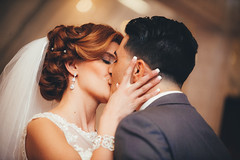 Jacklyn-and-Anthony_031116_Preview_49 (Christopher Romano) Tags: wedding jackie ceremony anthony firstkiss 2016 casquereli
