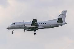 Swedish Air Force / Saab 340 / 100008 / EBBR 25R (_Wouter Cooremans) Tags: airplane force aviation air swedish saab spotting bru 340 zaventem saab340 ebbr brusselsairport spotter airplanespotting avgeek swedishairforce 25r 100008