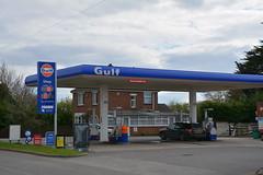 Gulf, Burgh Le Marsh Lincolnshire. (EYBusman) Tags: station energy gulf garage gas lincolnshire le service marsh petrol gasoline total filling skegness burgh certas eybusman