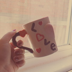Love...Ak... (bernamzrk1) Tags: love glass coffee tea kahve ay ak vsco vscocam
