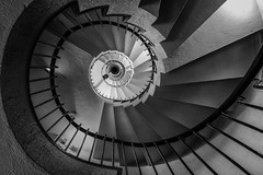 Oh, Hello (marco ferrarin) Tags: longexposure japan stairs spiral tokyo snail encounter spiralstaircase minimiotsuka