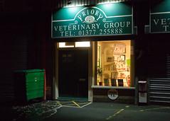 Driffield - Vet (Tony McLean) Tags: nightphotography streetphotography streetscenes driffield leica50summiluxasph leicam240 ©2016tonymclean