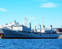 HMCS PRESERVER (Roger Litwiller -Author/Artist) Tags: navy royal canadian halifax preserver hmcs rcn