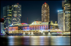 "I""ll meet you at mightnight,...Aida Prima. (Willem Vernooy (FoToWillem)) Tags: city longexposure travel cruise sky holiday haven holland color building water netherlands dutch car skyline architecture night buildings river harbor boat photo rotterdam nikon marine colorful europa europe exposure ship cityscape nightshot nederland colores cruisin maritime shutter nightphoto avond maas stad aida 010 architectuur ambiance zuidholland hollande rivier sluitertijd ftw cruisen rotjeknor avondopname rotterdamzuid avondfotografie hollanda maritiem portofrotterdam holandes skylinerotterdam fotowillem d7100 havenstad holande willemvernooy aidaprima"