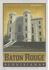 LA - Baton Rouge (kandilareyna) Tags: poster postcard adg andersondesigngroup