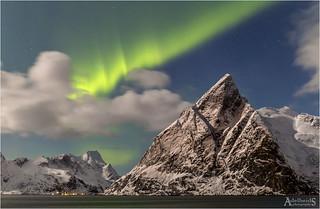 Aurora over Olstinden