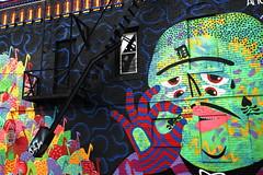 Detroit, Eastern Market - My Chri Amour by Kashink (RichKD) Tags: street city food art graffiti mural farmers market michigan detroit