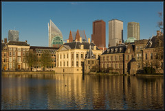 This is why I love my town (Ciao Anita!) Tags: sunset reflection tower netherlands museum pond zonsondergang tramonto torre toren nederland denhaag museo reflexions thehague olanda hofvijver vijver riflesso mauritshuis binnenhof zuidholland weerspiegeling laja stagno avondopname theperfectphotographer hettorentje hoogslapers