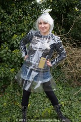 Clearlee Jkt & Skirt  APR16-9 (Ready2Role) Tags: rainwear pvc festivalwear