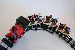 E Ticket Ride (Fat Tony 1138) Tags: lego disney mickeymouse minifigures