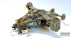"G3Dropship ""Bricks away"" (Horcik Designs) Tags: rescue plane soldier gun lego helicopter future fi custom sci osprey vtol gunship dropship"