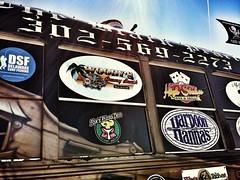 The Black Pearl party bus (delmarvausa) Tags: pirates transportation delaware bethanybeach blackpearl delmarva partybus limobus drunkbus piratethemed theblackpearl delmarvapeninsula piratetheme bethanybeachdelaware sussexcountyde sussexde southerndelawaware theblackpearlbus themebus