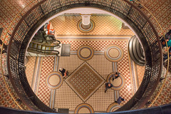 QVB (Janet Marshall LRPS) Tags: floor mosaic sydney australia cbd qvb romanesquerevival queenvictoriabuilding tiled explored