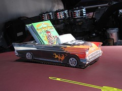 Blackjax Bar 4/10/2016 57 Chevy Bel Air Card Caddy (Speeder1) Tags: show street cruise two hot classic ford chevrolet car bar rat pennsylvania muscle pa lane tavern rod 55 goons aces willys gasket blacktop eights birdsboro blackjax
