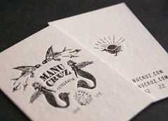 Manu Cruz (El Calotipo) Tags: design businesscards printing letterpress diseo tarjetas