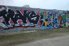 CIMG4979 (Colourfulfills) Tags: uk black rock writing graffiti brighton paint spot spray chillin walls graff aerosol jam on traks