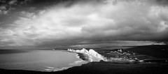 Seven Sisters (Graham Hodgetts) Tags: england blackandwhite bw monochrome landscape sussex coast nationalpark walk style cliffs eastbourne fujifilm sevensisters fujinon seaford bnw southdowns ramble rambling coastpath nocolor nocolour xt1 sescape southsownsway xf1855mmf2840r