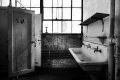 the.human.scale (jonathancastellino) Tags: door leica ontario abandoned window bathroom ruins sink decay hamilton ruin stall m summicron faucet derelict washroom