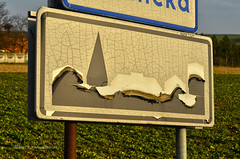Build-up area (ChemiQ81) Tags: sign outdoor poland polska polish tags beta add polen polonia pologne 2016 znak  polsko  puola plland lenkija teren pollando   poola poljska polija pholainn woniki lubliniecki     chemiq zabudowany polanya lengyelorszgban