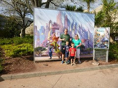 Disney Springs (heytampa) Tags: david poster hey disney billboard cheryl conner paxton fitzpatrick downtowndisney zootopia disneysprings