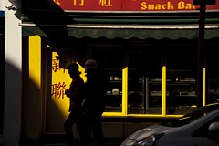 Sunday Snacks (Places, Faces) Tags: street city england people color colour london composition contrast chinatown shadows britain candid centre central streetphotography silhouettes streetscene scene compo streetphoto capture lowkey peoplewatching robmchale