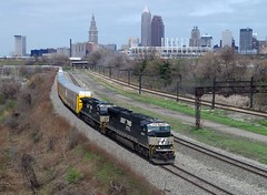 NS 2601 (Fan-T) Tags: tower ns cleveland terminal erie nkp 2601 sd70m 28n