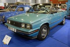 AMC RENAULT Alliance 1.7 L Convertible - 1985 (xavnco2) Tags: show blue classic cars club automobile convertible renault exposition autos amc bourse alliance bleue cabriolet arras 2016 r9 anciens vehicules ravera6a