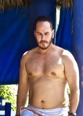 IMG_0880 (danimaniacs) Tags: shirtless man sexy guy beard mexico hunk puertovallarta stud scruff mansolo