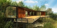Дома на склоне холма в Австралии от ABA